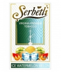 Табак Serbetli  Ice Watermelon Melon (Лед Арбуз Дыня) 50 грамм