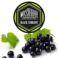 Табак Must Have (Маст Хэв) Black Currant (Черная Смородина) 125 грамм