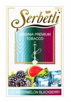 Табак  Serbetli  Ice Watermelon Blackberry (Лед Арбуз Ежевика) 50 грамм