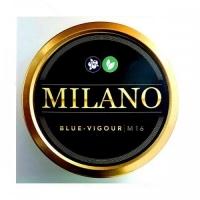 Табак MILANO (Милано) 100 грамм - Blue Vigor  M16 (Черника,  Мята)