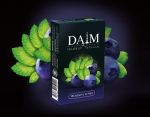 Табак для кальяна  DAIM Blueberry Mint (Черника с мятой)