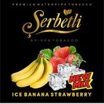 Табак Serbetli Ice Banana Strawberry Лед Банан Клубника 500 грамм