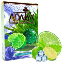 Табак Adalya The Coldest Green (Ледяной Лайм)  50 грамм