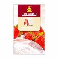 Табак Al Fakher Strawberry with Cream (Клубника Крем) 50 грамм