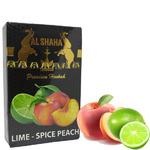 Табак Al Shaha (Аль Шаха) Лайм Персик (Lime Spice Peach) 50 грамм.