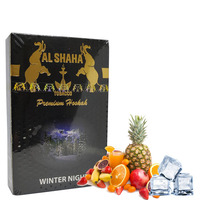 Табак Al Shaha (Аль Шаха) Зимняя ночь (Winter Night) 50 грамм