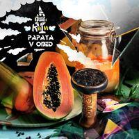 Табак Black Burn Papaya v Obed (Папайя в Обеде) 100 грамм