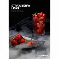 Табак Darkside (Дарксайд) Strawberry Light (Клубника) 100 грамм