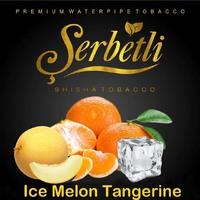 Табак для кальяна Serbetli Ice Melon Tangerine (Лед Мандарин Дыня) 500 грамм